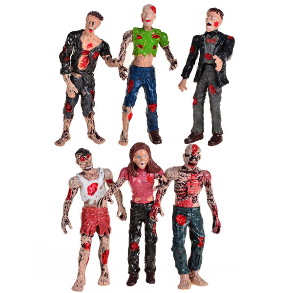 6-Piece Walking Dead Action Figures