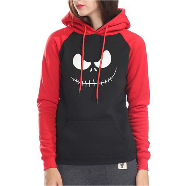 Nightmare Before Christmas Jack Skellington Smile Hoodie