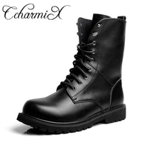 Men's Midcalf Leather Boots