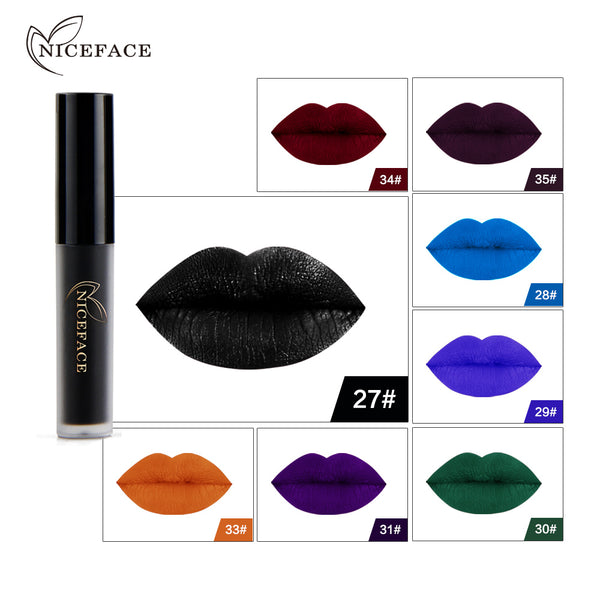 Gothic-Style Lipstick (Multiple Colors)