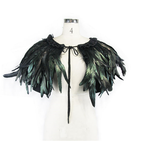 Feather Cape Top