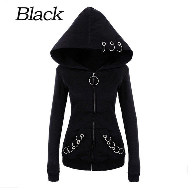 Gothic Black Women's Jacket