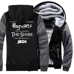 Men's Nerdy Printed Varsity Jacket (Multiple Colors)
