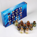 Assorted Healing Stone & Bottle Gift Set (9 Pieces)