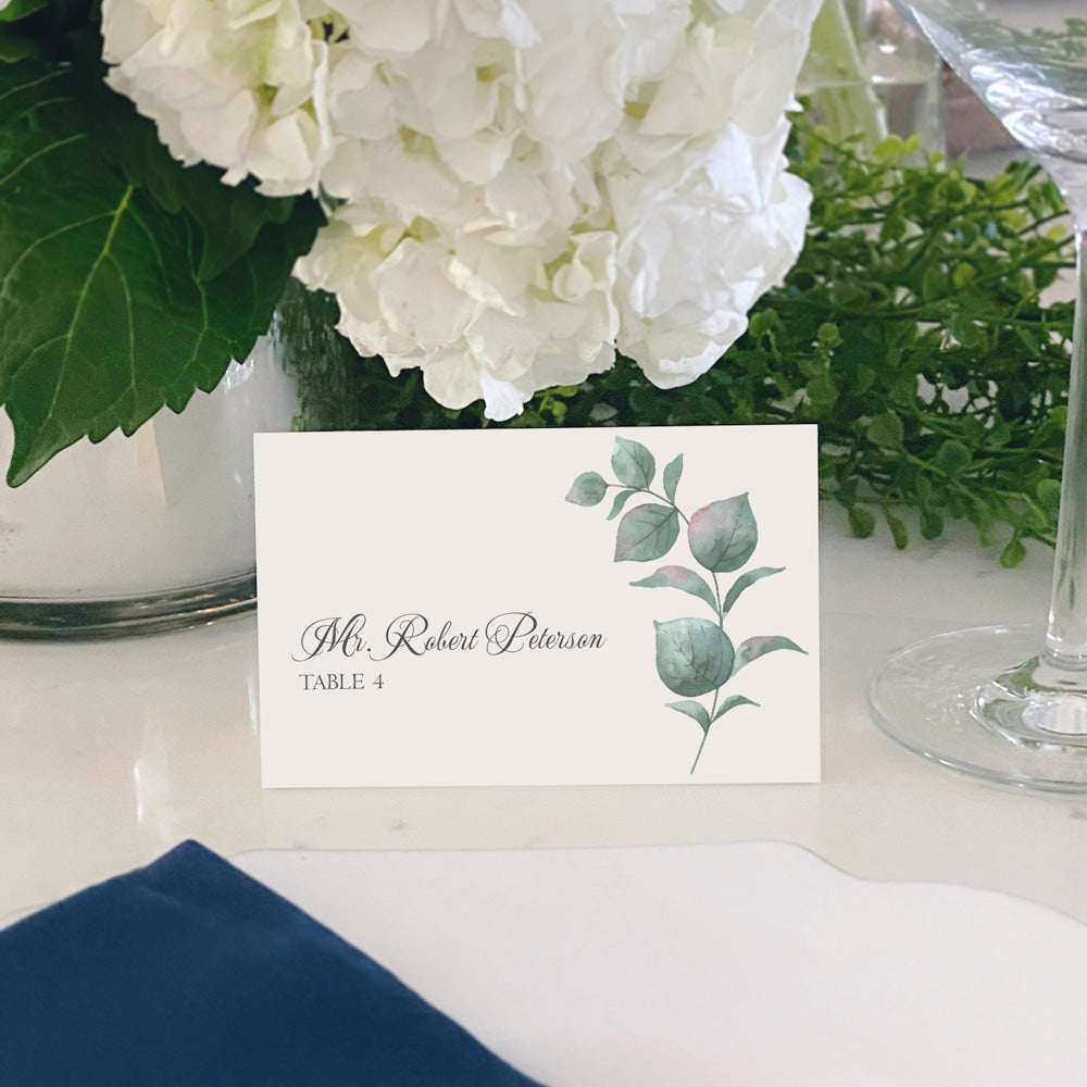 Escort and Place Cards Personalized [Natalie]