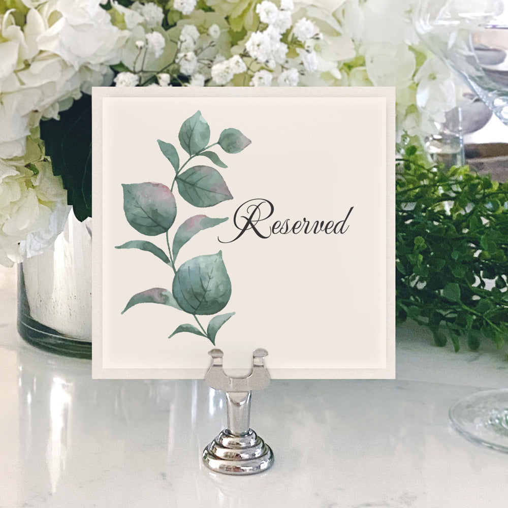 Table Numbers and Reserved Signs [Natalie]