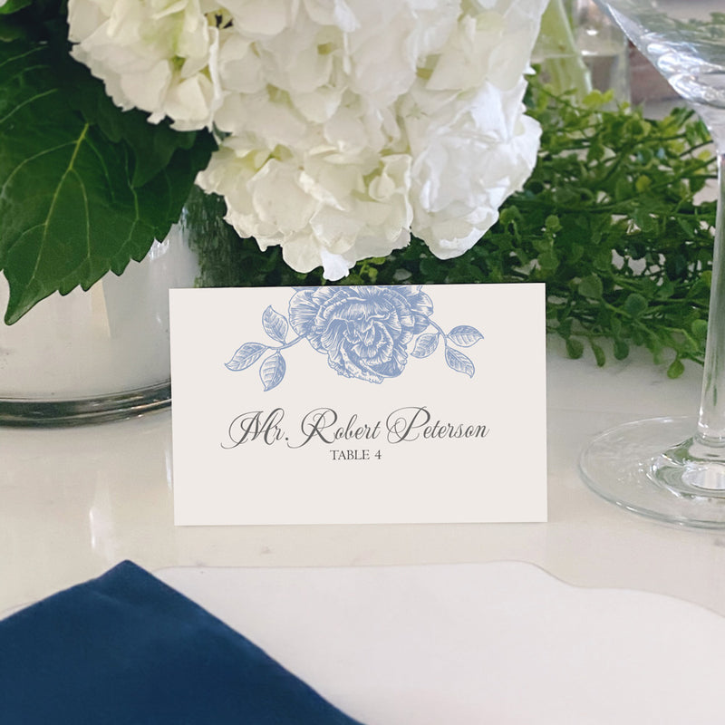 Escort and Place Cards Personalized [Amelia]