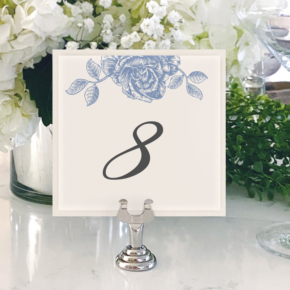 Table Numbers and Reserved Signs [Amelia]