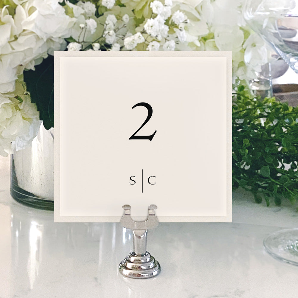 Table Numbers and Reserved Signs [Bailey]