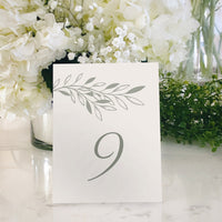 Table Tent Numbers, Reserved and Bar Signs [Blair]