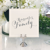 Table Numbers and Reserved Signs [Brittney]