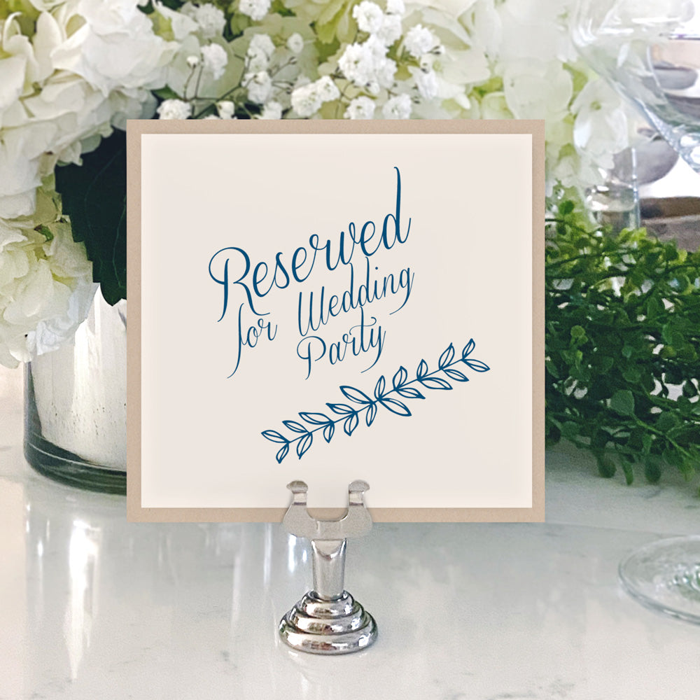 Table Numbers and Reserved Signs [Chayse]