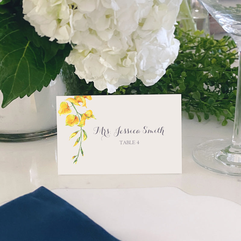 Escort and Place Cards Personalized [Cindy]