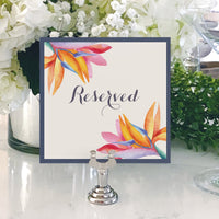 Table Numbers and Reserved Signs [Cindy]
