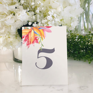 Table Tent Numbers, Reserved and Bar Signs [Cindy]