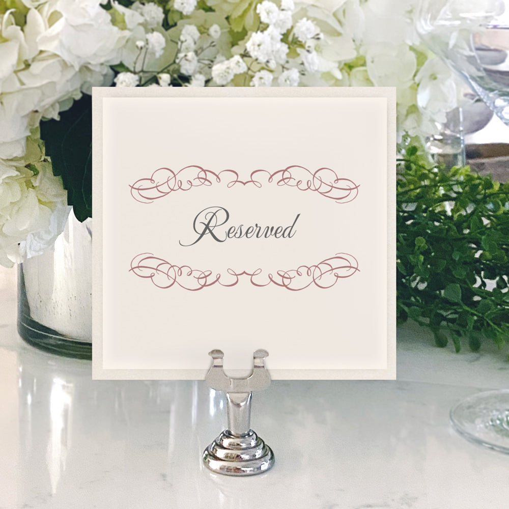 Table Numbers and Reserved Signs [Cynthia]