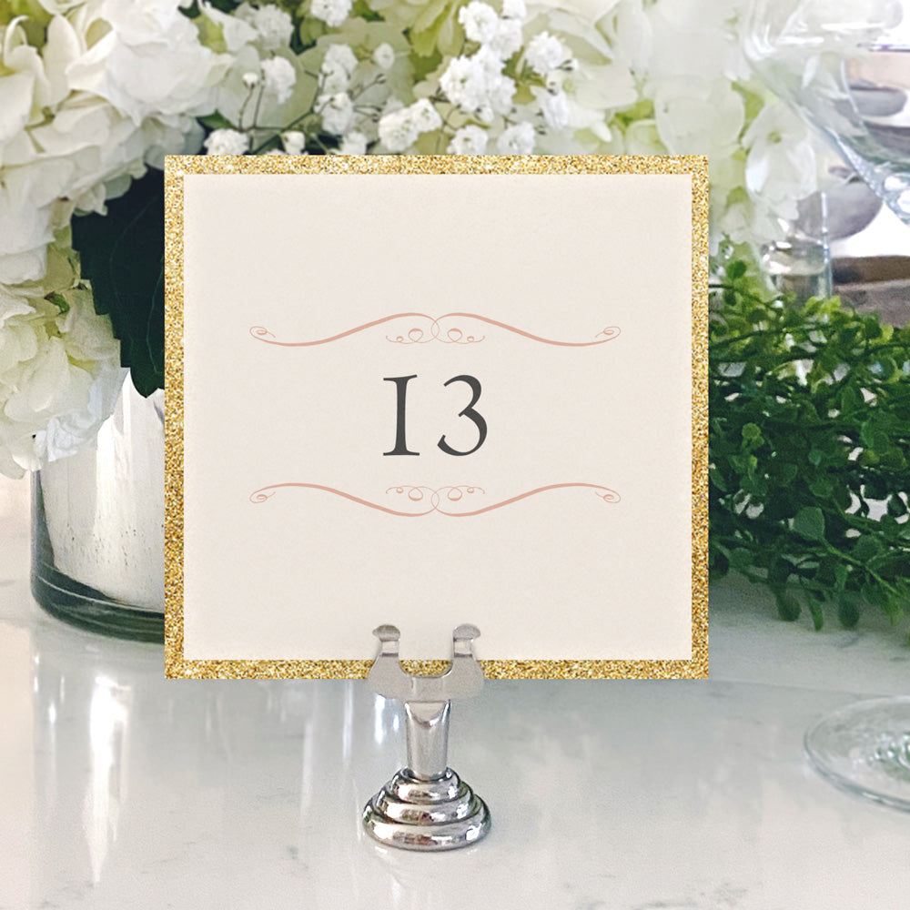 Table Numbers and Reserved Signs [Emily]