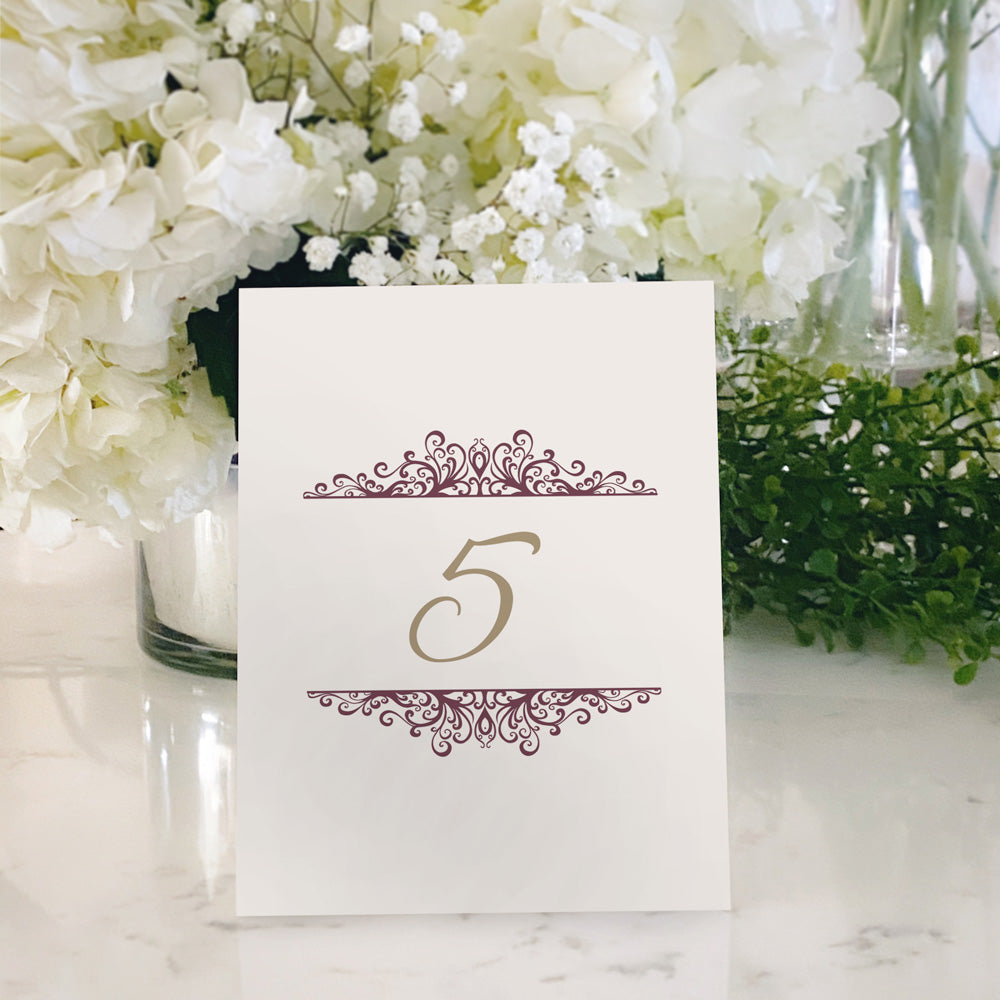 Table Tent Numbers, Reserved and Bar Signs [Jackie]