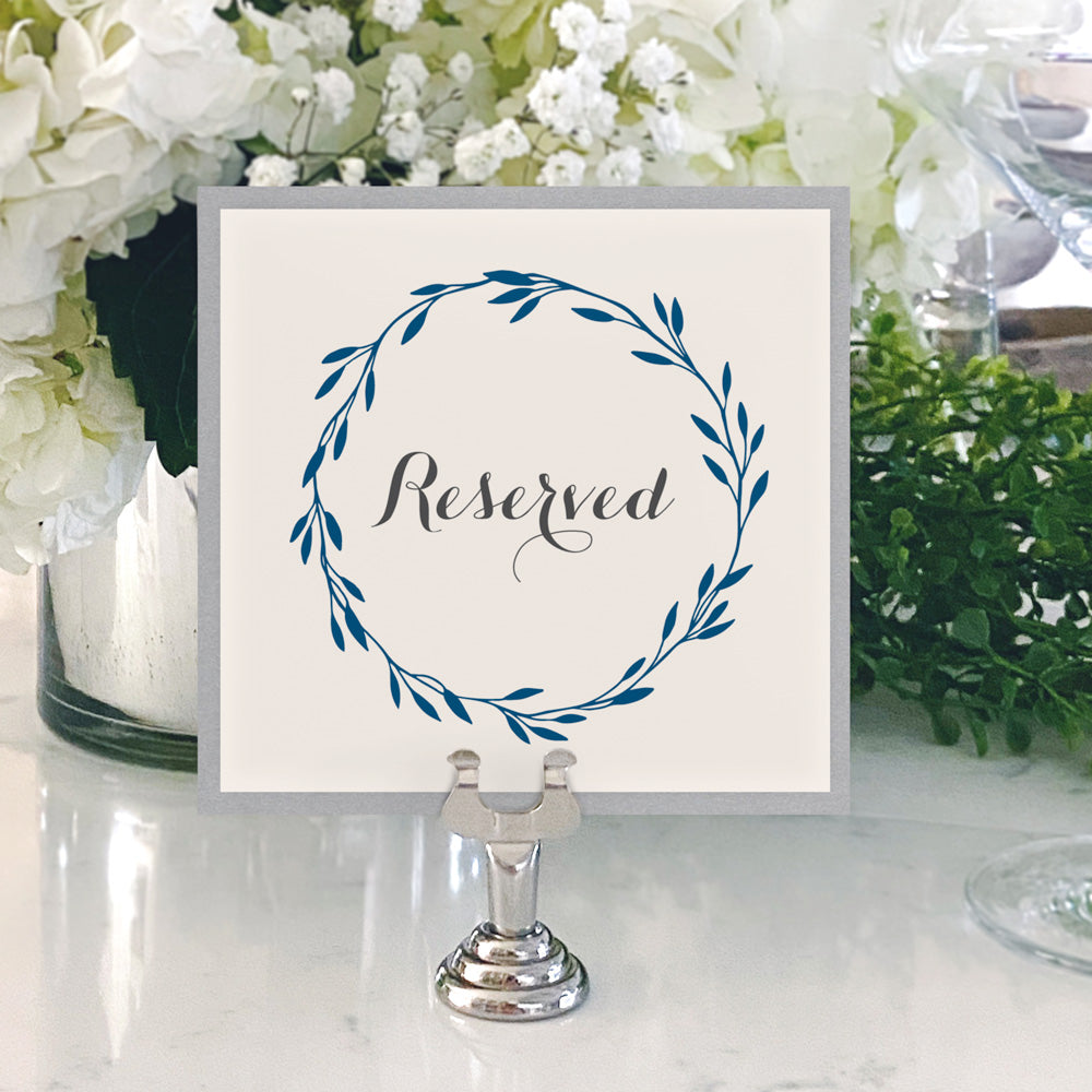 Table Numbers and Reserved Signs [Jennifer]