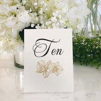 Table Tent Numbers, Reserved and Bar Signs [Joy]