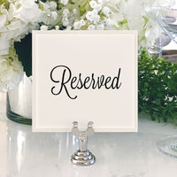 Table Numbers and Reserved Signs [Kelley]