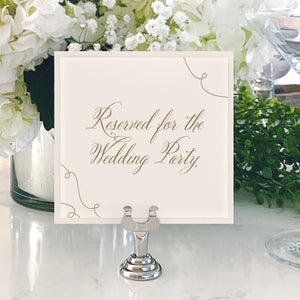 Table Numbers and Reserved Signs [Kimberly]