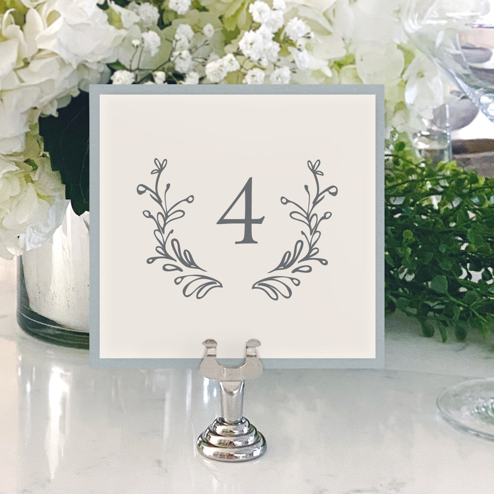 Table Numbers and Reserved Signs [Lauren]