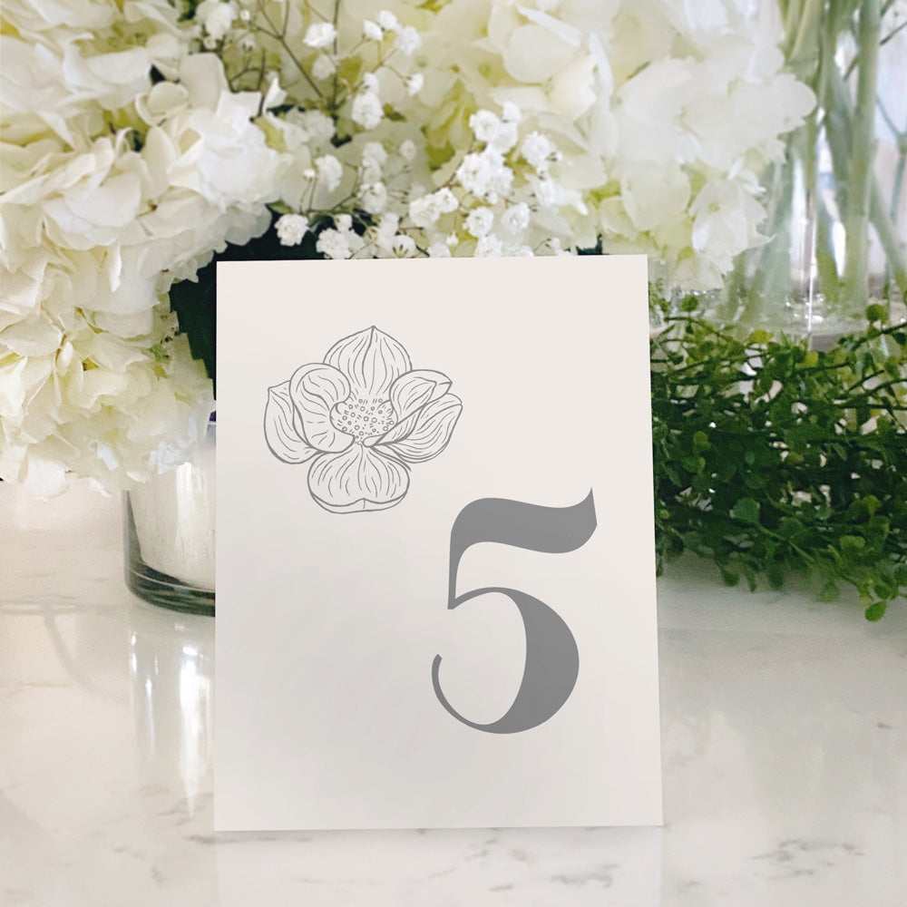 Table Tent Numbers, Reserved and Bar Signs [Maggie]
