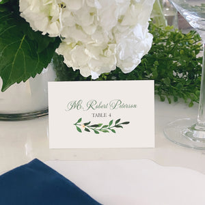 Escort and Place Cards Personalized [Misty]