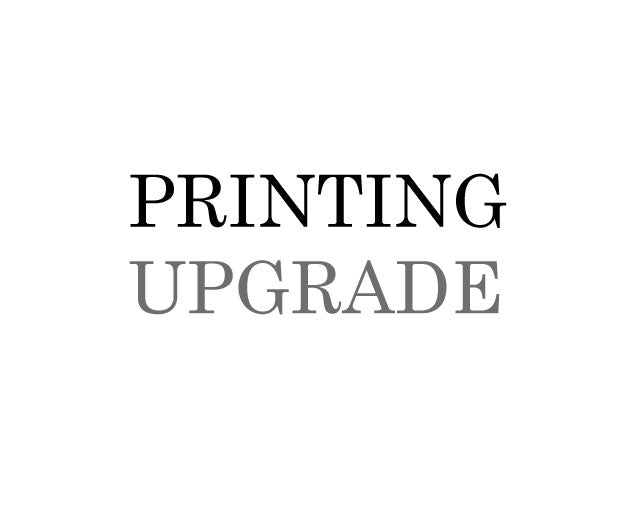 Printing Upgrades for STEP 1 [VELLUM]
