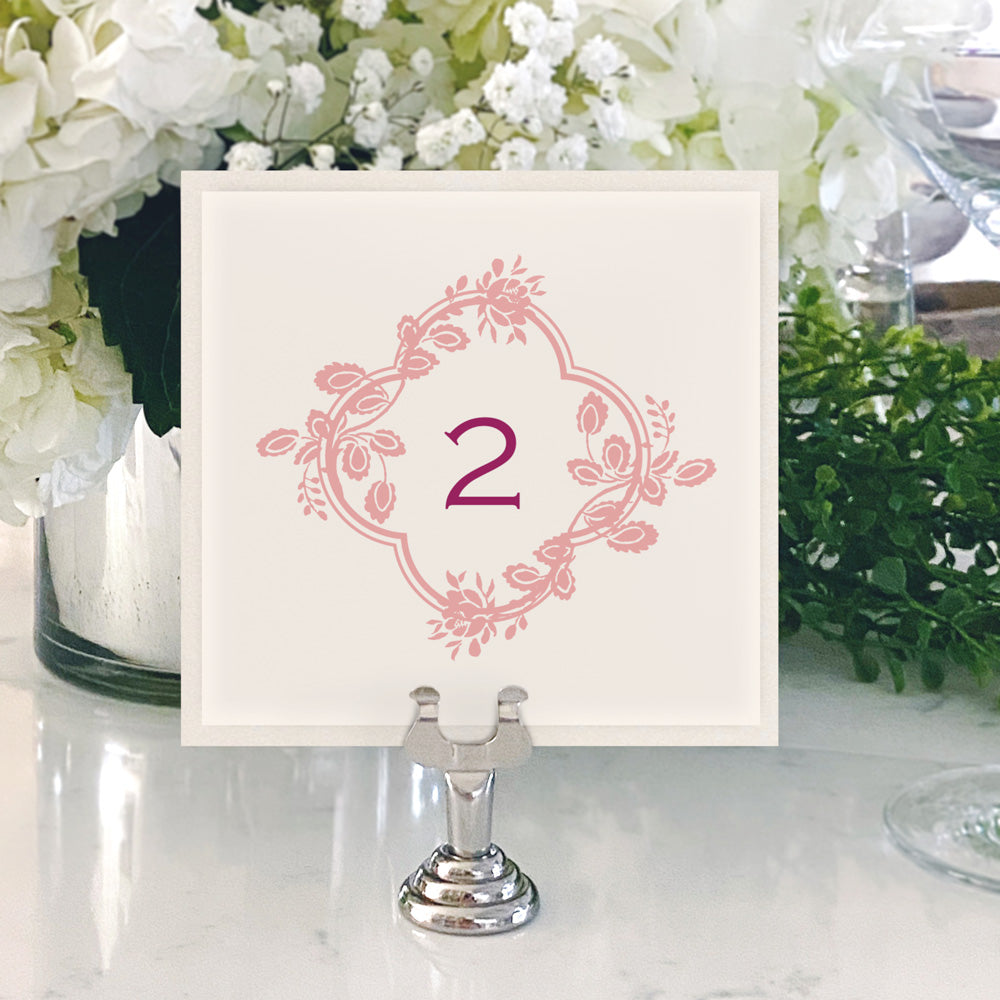 Table Numbers and Reserved Signs [Rachel]