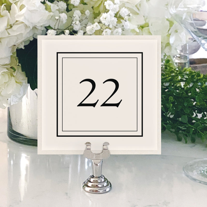 Table Numbers and Reserved Signs [Riley]