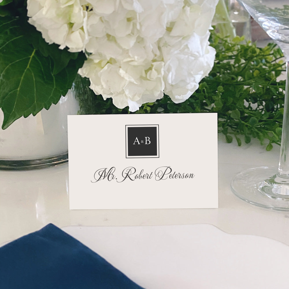 Escort and Place Cards Personalized [Riley]