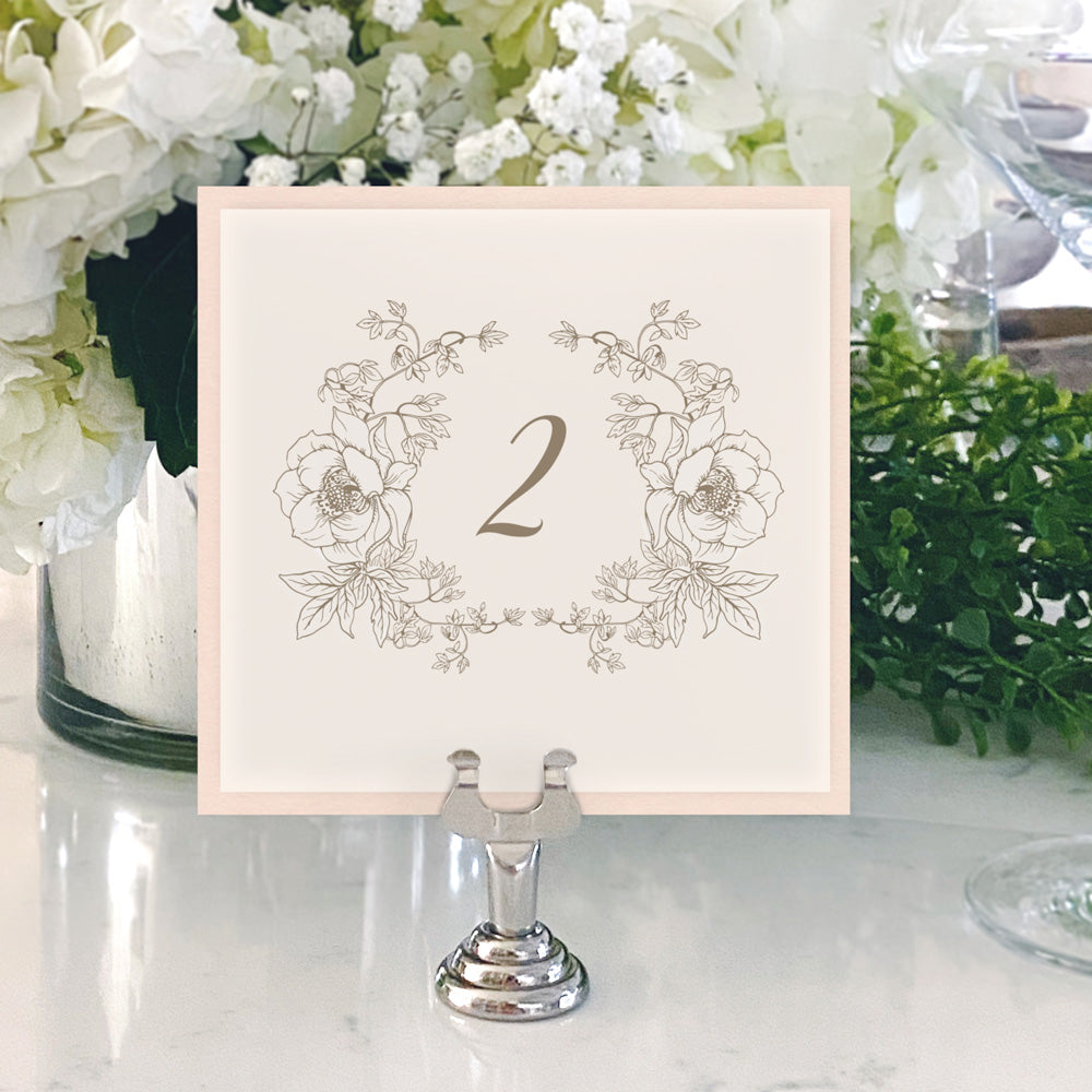 Table Numbers and Reserved Signs [Rosie]