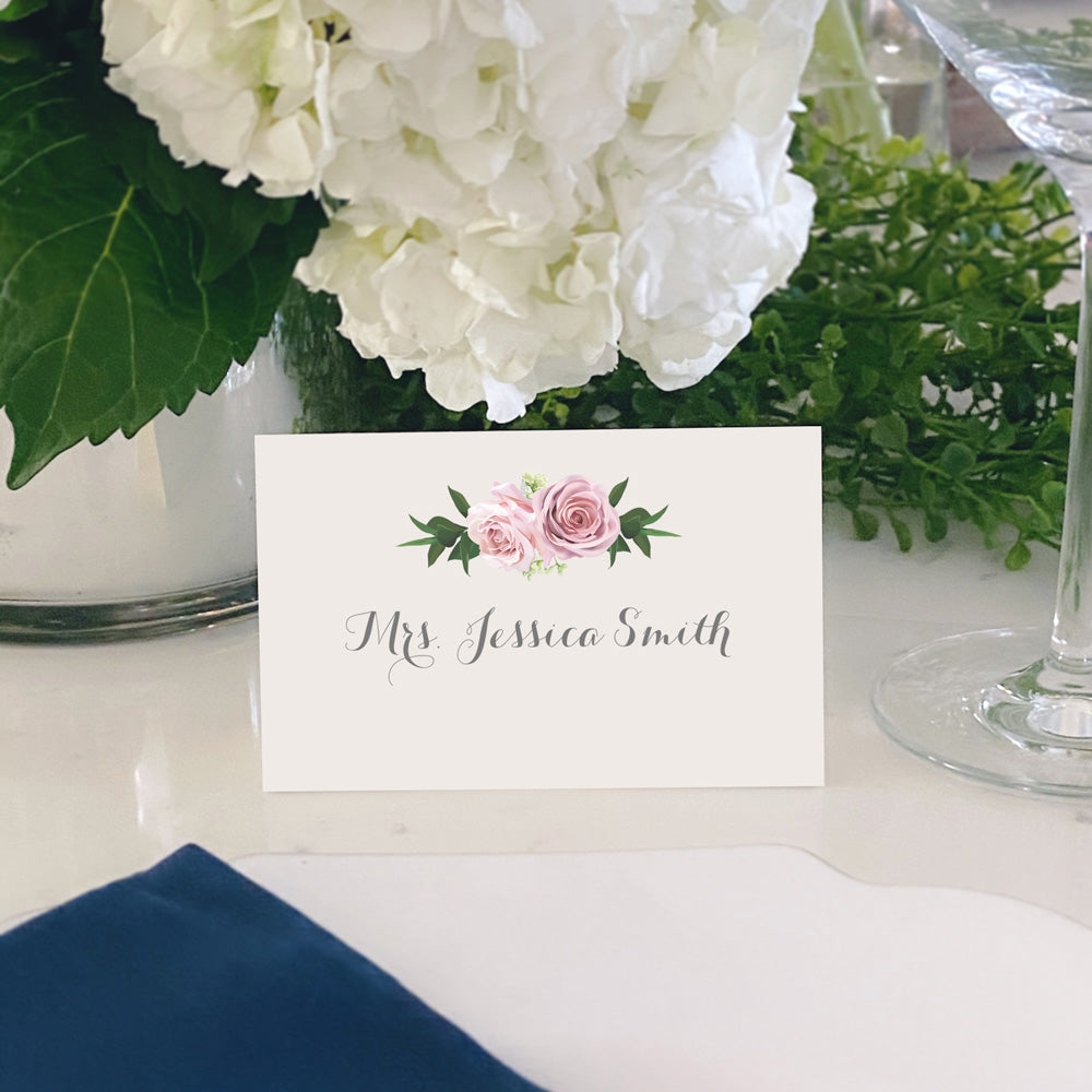Escort and Place Cards Personalized [Tabitha]