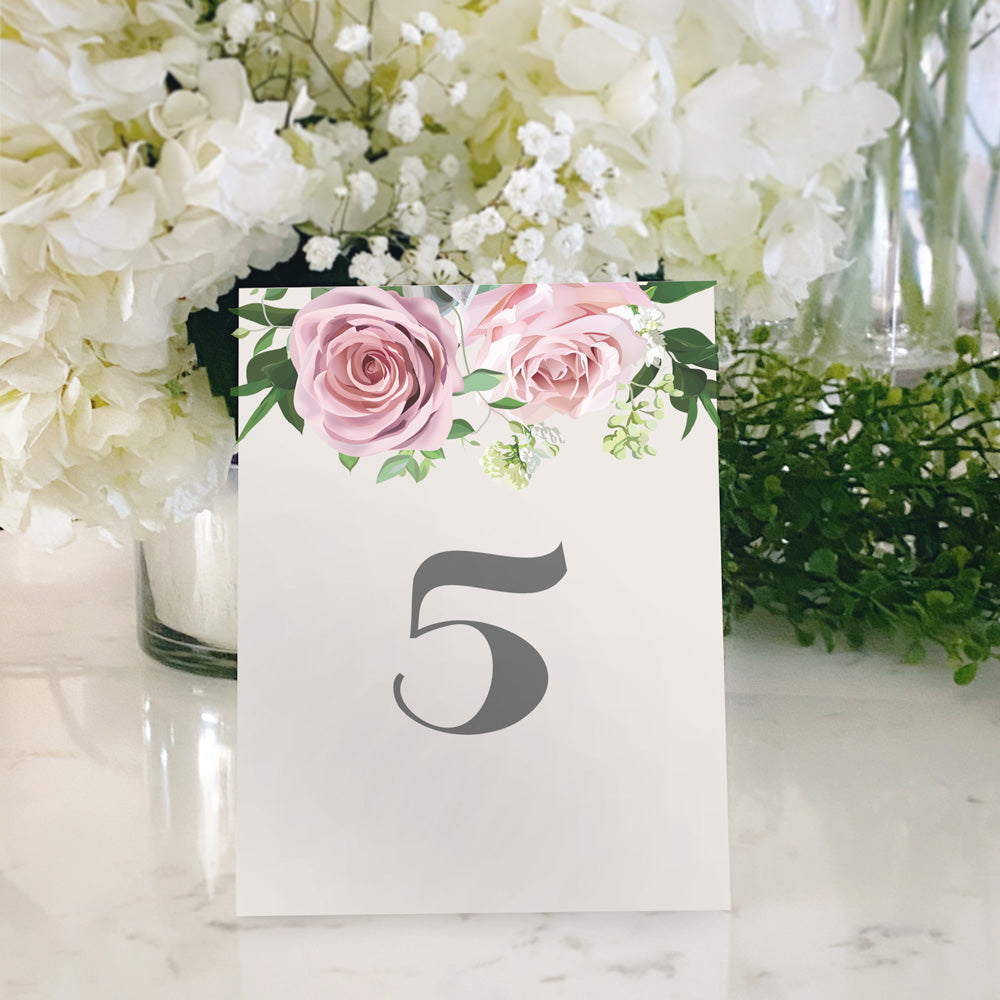 Table Tent Numbers, Reserved and Bar Signs [Tabitha]