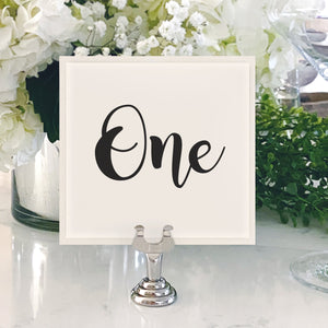 Table Numbers and Reserved Signs [Victoria]