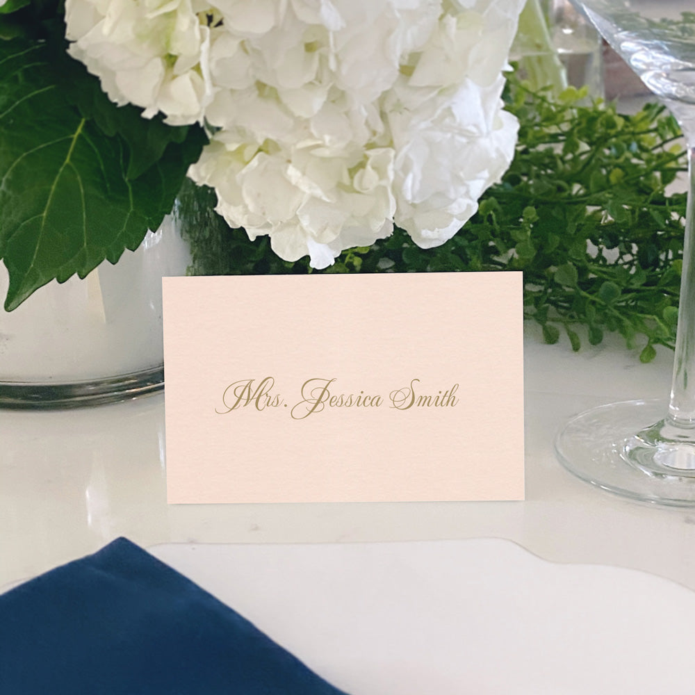 Escort and Place Cards Personalized [Vivian]
