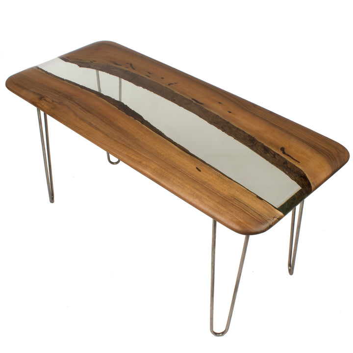 Ice Walnut Console Table