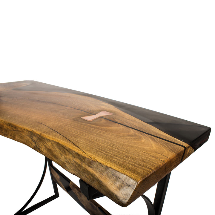 Black Wood Console Table - Terra Garage