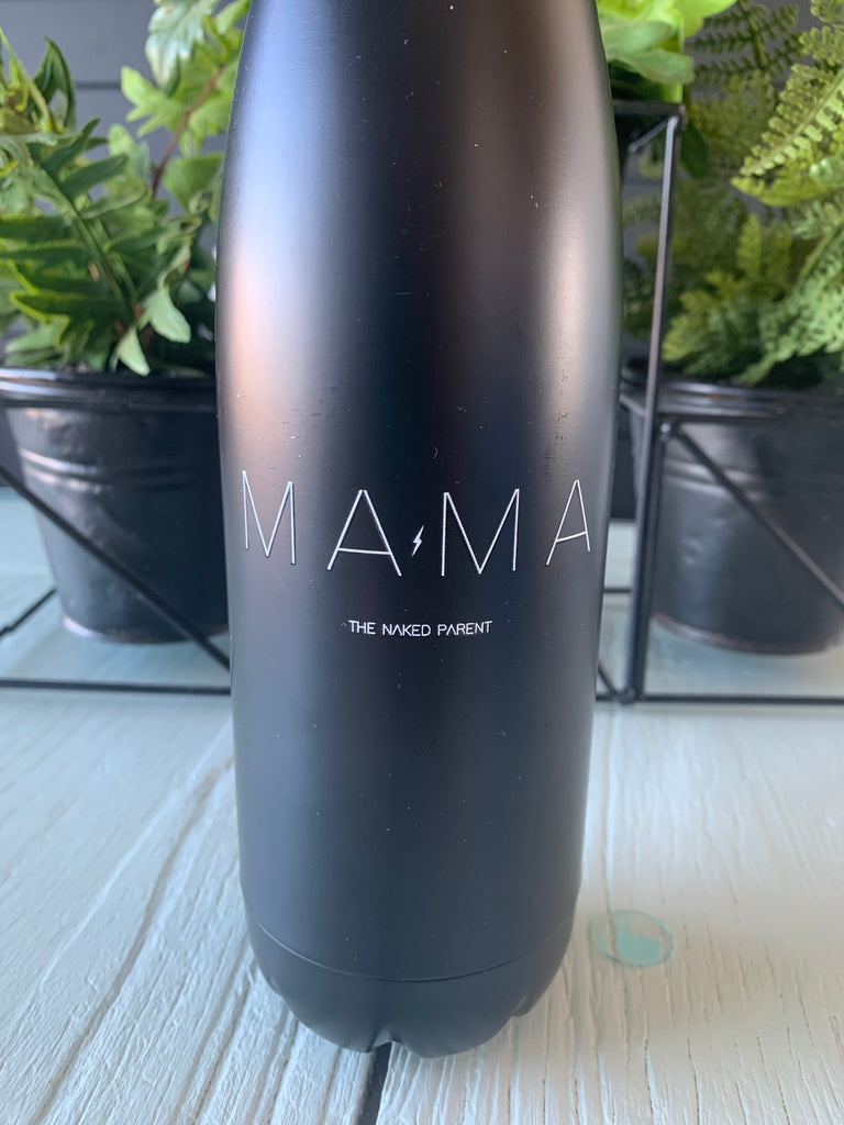 Mama // Black 17 oz. insulated bottle