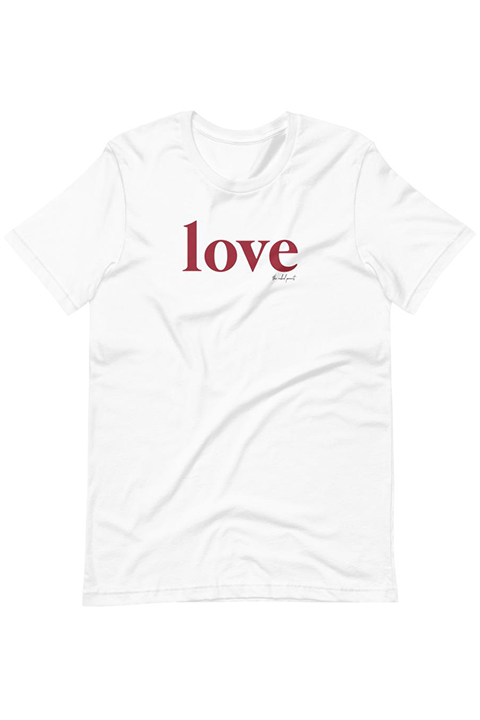 Retro Red Love // Tee