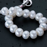 Gorgeous Pearls Bracelet - Natural White/Pink/Purple Freshwater Pearls