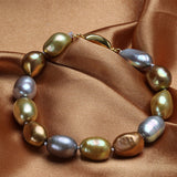 Classic Pearls Bracelet made of Stylish Natural Freshwater Pearls