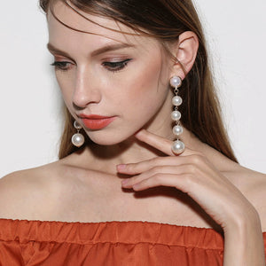 Cute Pearls Earrings