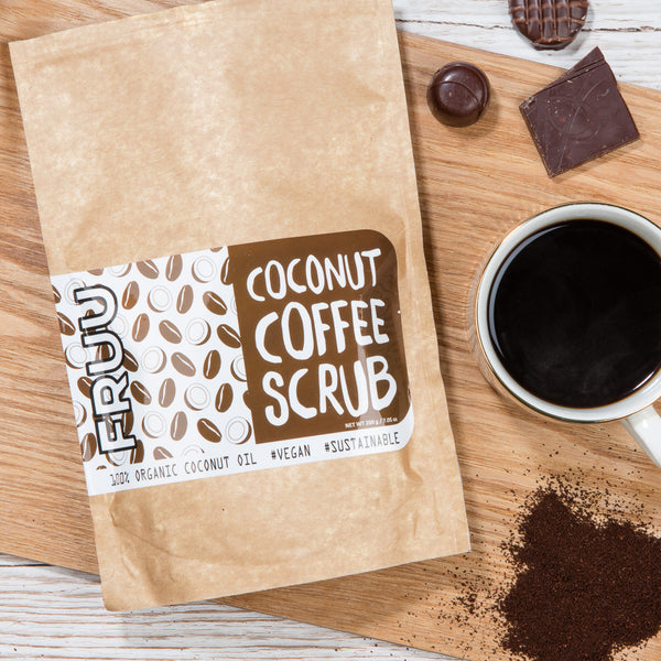 Fruuurskin 's Coconut Coffee Scrub