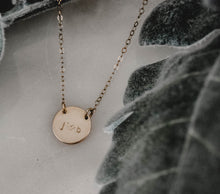 happy cactus brand hand stamped jewelry best gift for her on necklace mini zola dainty gold necklace gold filled rose gold filled sterling silver