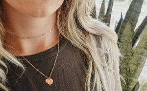 shimmer choker necklace