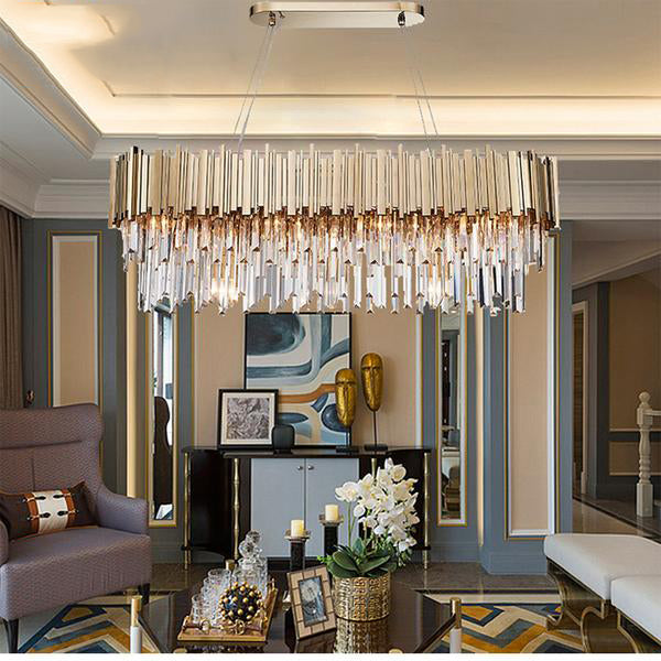 New Luxury Crystal Chandeliers