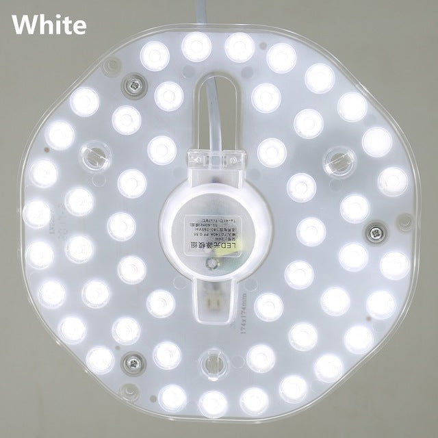 LED Panel Lights 220 V Ceiling Optical lens module Lamp Home lighting